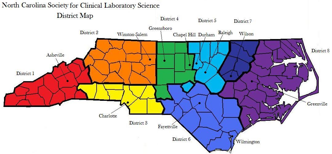 NCSCLS regions